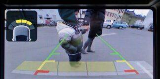 Mostramos a necessidade de cameras de ré para prevenção de acidentes com crianças